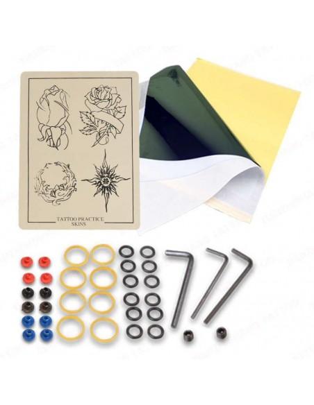 Stigma Bizarre Rotary Profesyonel Dövme Seti - Her Şeyi İle Eksiksiz Premium Full Set