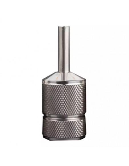 30mm Premium Vidalı Dövme Makinesi Grips - Paslanmaz Çelik Grips