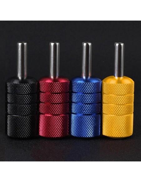50mm Premium Vidalı Dövme Makinesi Grips - Paslanmaz Çelik Grips