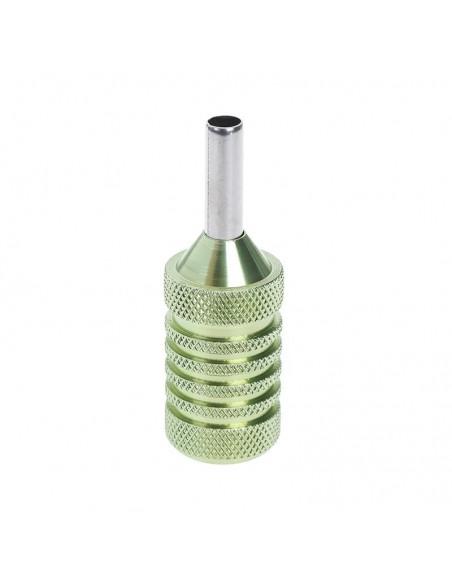 25mm Dövme Makinesi Grips - Paslanmaz Çelik Grips Yeşil