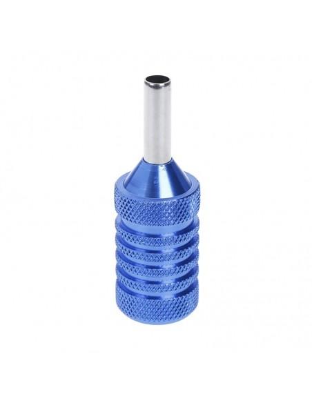 25mm Dövme Makinesi Grips - Paslanmaz Çelik Grips Mavi