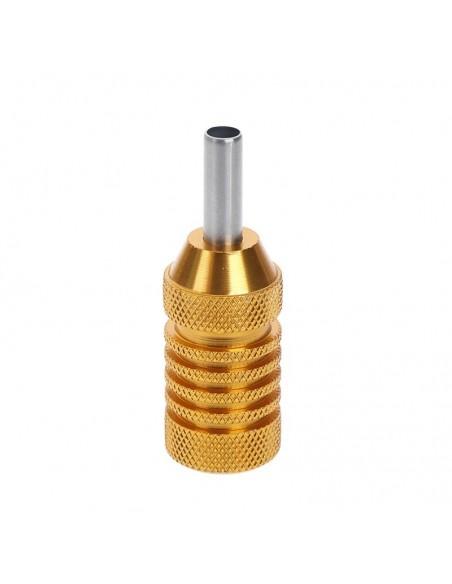 25mm Dövme Makinesi Grips - Paslanmaz Çelik Grips Gold