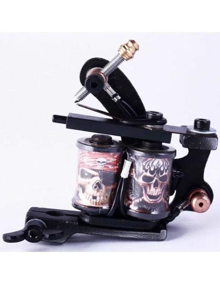 Dövme Tattoo Makinesi 8 Warp Özel Tasarım Bobin Paslanmaz Çelik