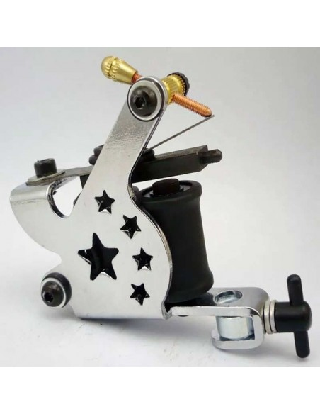 Dövme Tattoo Makinesi Amerikan Silver 10 Warp