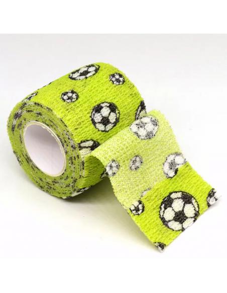 Dövme Makinesi Grip Sargısı - Tutacak Bandı Cover - Futbol Topu Model