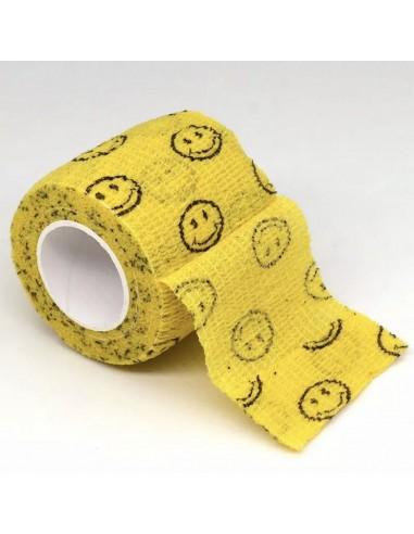 Dövme Makinesi Grip Sargısı - Tutacak Bandı Cover - Smile Model