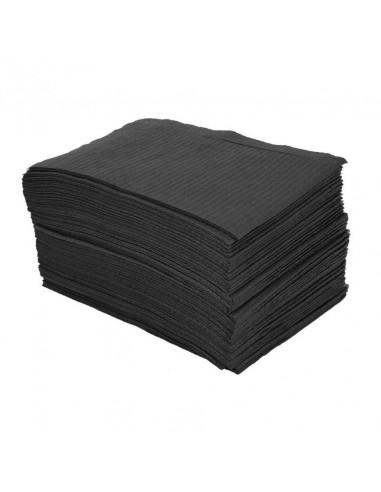 Su Geçirmeyen Siyah Tek Kullanımlık Dövme Sehpası Altlığı - Setup Örtüsü 125 Adet