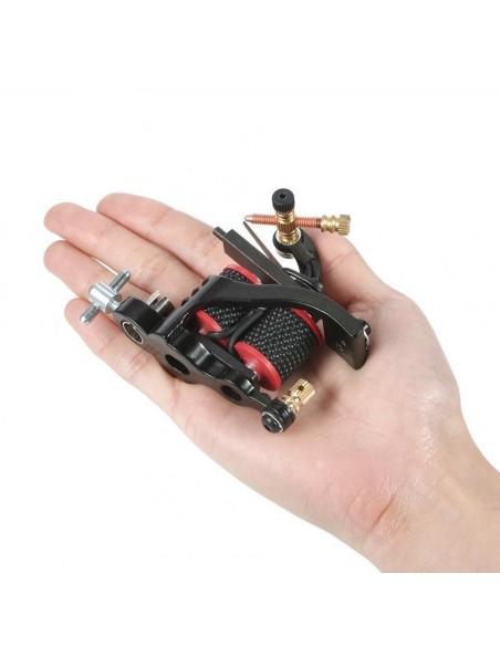 Dövme Tattoo Makinesi Kırmızı Bobin Şeritli Özel Tasarım Dövme Makinesi