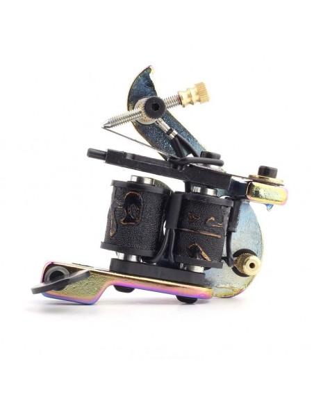 Dragon Hawk Holograms Tasarım 10 Warp Bobinli Dövme Makinesi Holograms Tasarım
