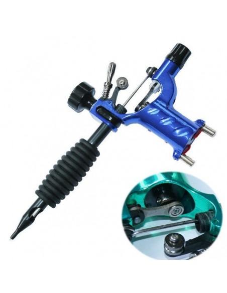 Dövme Makinası Dragonfly Modeli Rotary Grips, Tips, İğne Hediyeli (Mavi)
